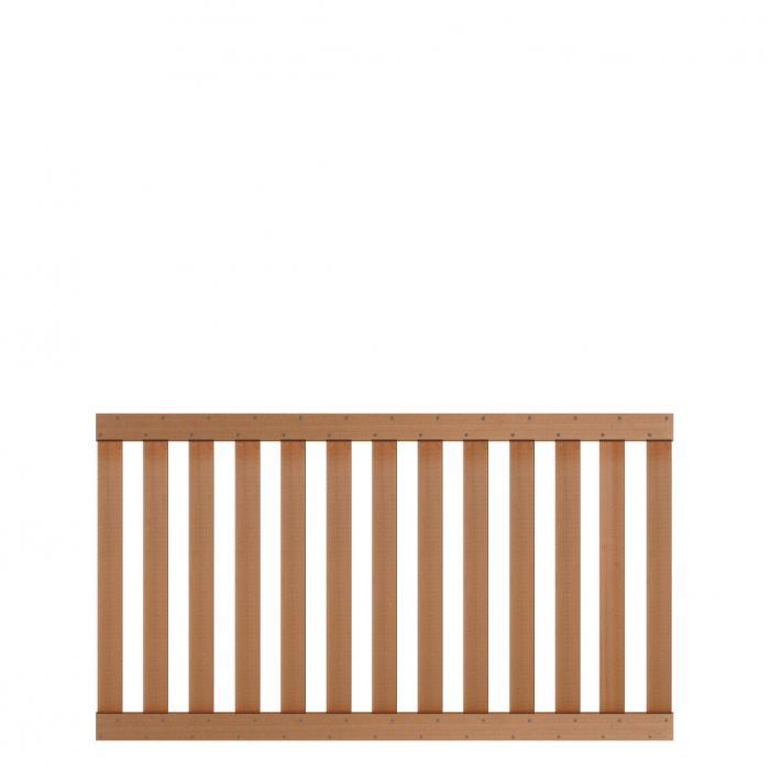 zaun traumgarten raja wpc. Black Bedroom Furniture Sets. Home Design Ideas