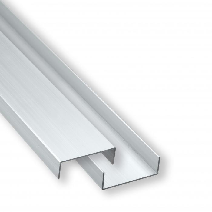 elephant aluminium abdeckprofil 2er set zaunbeschl ge. Black Bedroom Furniture Sets. Home Design Ideas