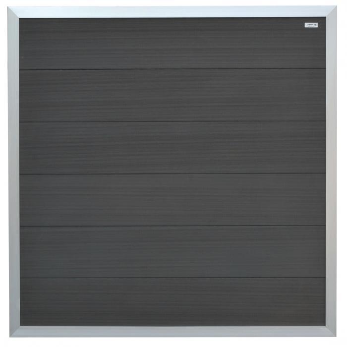 elephant sichtschutzzaun forte anthrazit alu wpc 180x180cm abholung in 48249 ebay. Black Bedroom Furniture Sets. Home Design Ideas