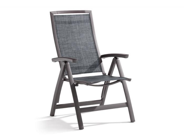 sieger klappsessel trento eisengrau gartenm bel. Black Bedroom Furniture Sets. Home Design Ideas