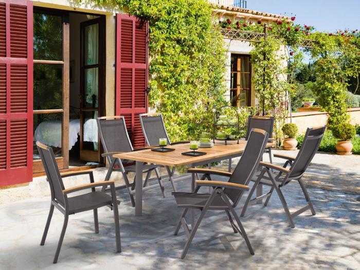 gartenmöbel set alu holz | ambiznes.com - Sitzgruppe Im Garten Gartenmobel Sets