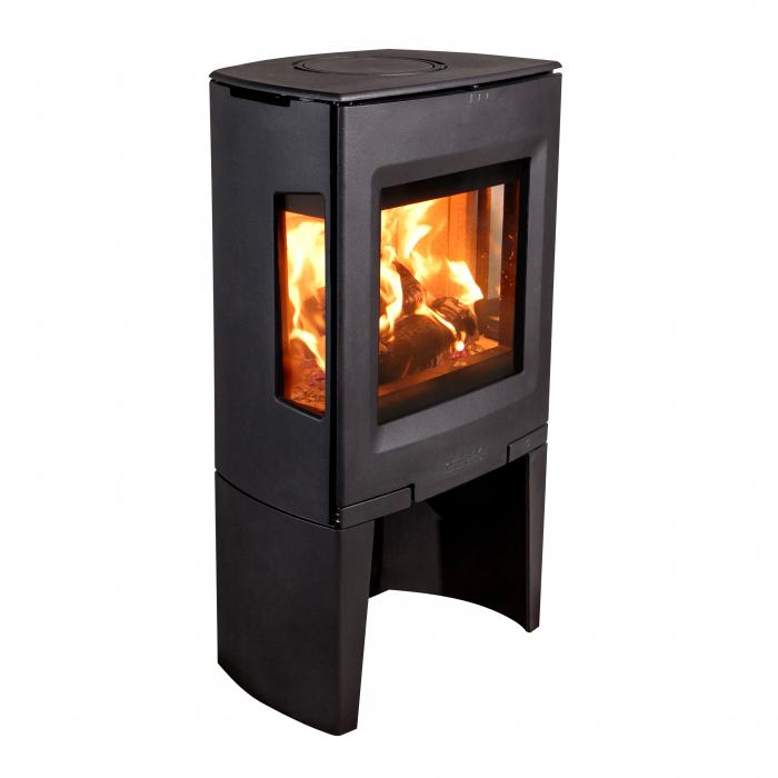 kaminofen 5kw aduro 13 schwarz kamin fen. Black Bedroom Furniture Sets. Home Design Ideas