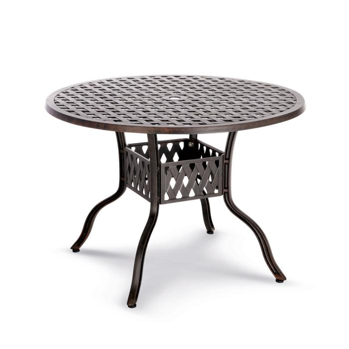 gartentisch rechteckig metall interesting gartentisch aus metall rechteckig in modernem design. Black Bedroom Furniture Sets. Home Design Ideas