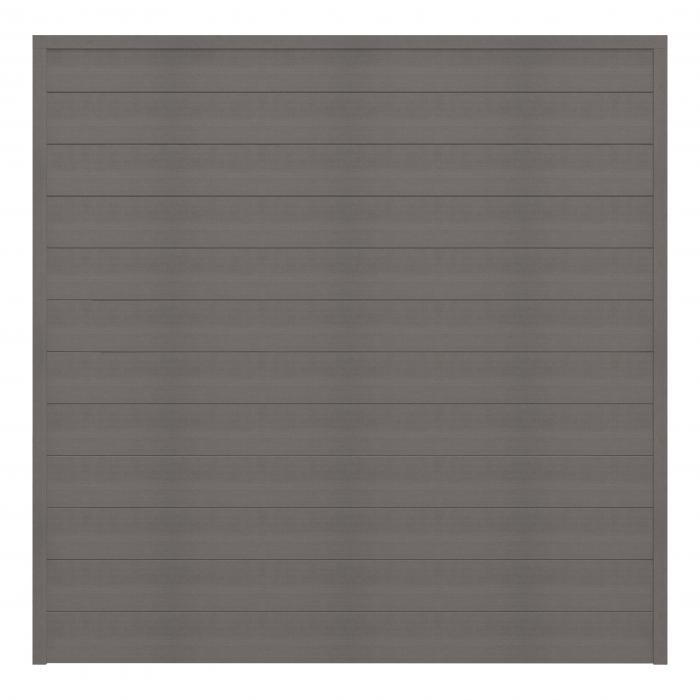 grojasombra wpc zaunfeld set grau 180x180 abholartikel ebay. Black Bedroom Furniture Sets. Home Design Ideas