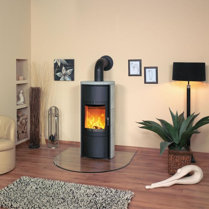 kaminofen keno ecoplus 5kw naturstein von hark. Black Bedroom Furniture Sets. Home Design Ideas
