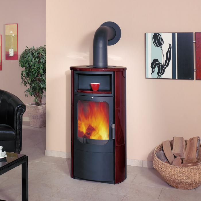 hark kaminofen barolo 5kw bordeaux rot kamin fen. Black Bedroom Furniture Sets. Home Design Ideas