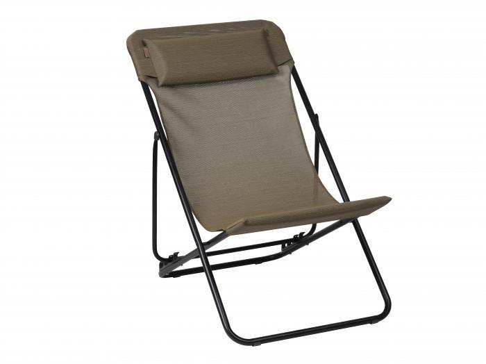 lafuma relaxliege maxi transat plus bronze 6896 gartenm bel. Black Bedroom Furniture Sets. Home Design Ideas