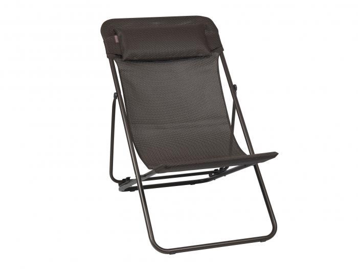 lafuma relaxliege maxi transat black 6717 gartenm bel. Black Bedroom Furniture Sets. Home Design Ideas