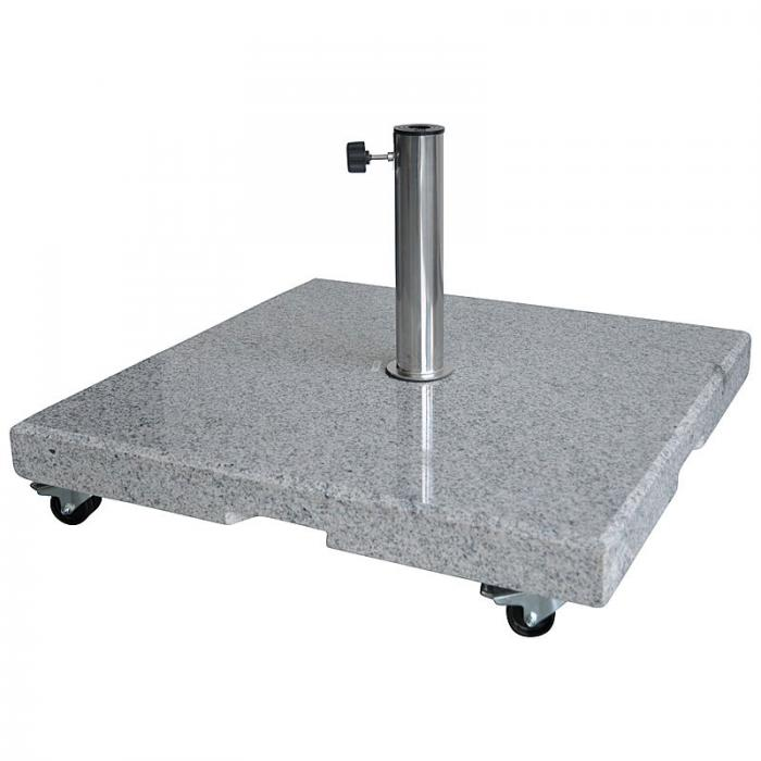 zangenberg granit schirmst nder 90kg mit rollen. Black Bedroom Furniture Sets. Home Design Ideas