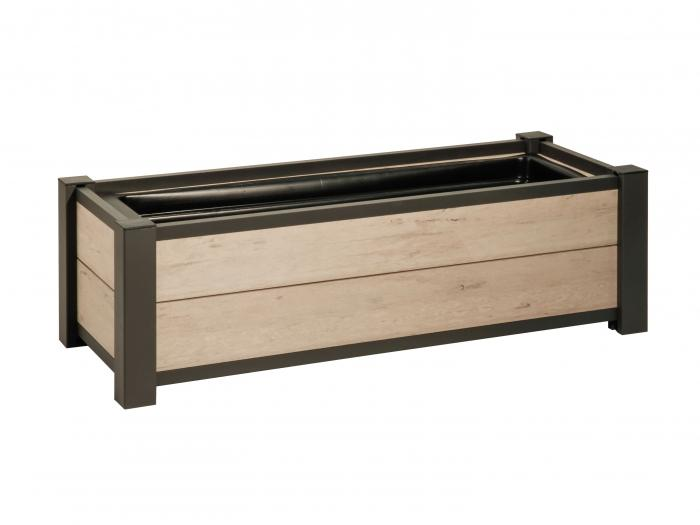 system wpc pflanzkasten sand blumenk sten. Black Bedroom Furniture Sets. Home Design Ideas