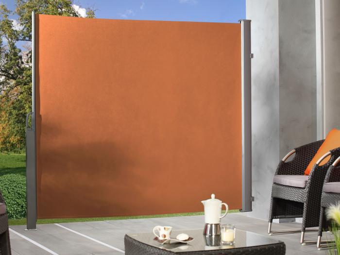 seitenmarkise terracotta 4290 zaun. Black Bedroom Furniture Sets. Home Design Ideas
