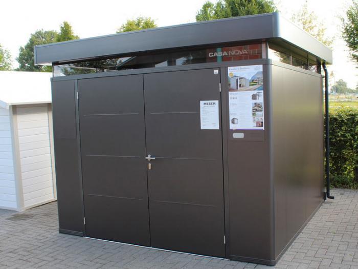 biohort casanova 3x3 mit doppelt r gartenh user. Black Bedroom Furniture Sets. Home Design Ideas