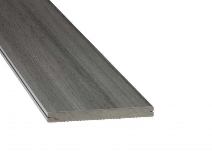 dreamdeck platinum wpc terrassendiele 20x195mm grau holz. Black Bedroom Furniture Sets. Home Design Ideas