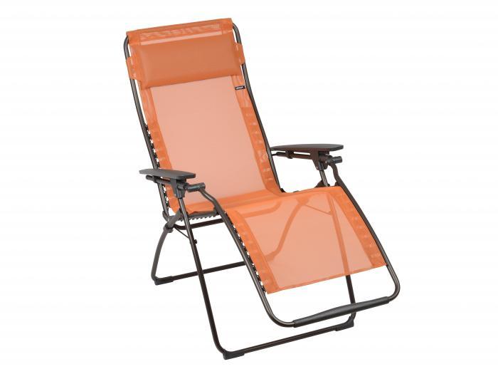 Lafuma Futura Clippe Relaxsessel Potiron 7226  eBay