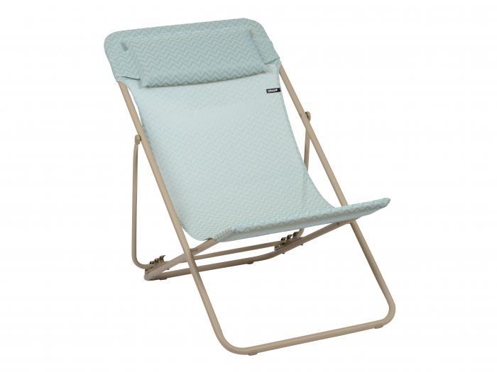 lafuma relaxliege maxi transat plus celadon 7233 gartenm bel. Black Bedroom Furniture Sets. Home Design Ideas