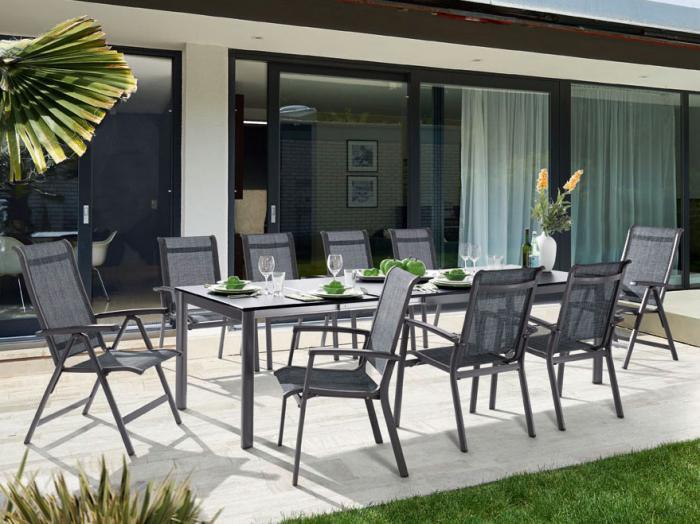 Elegant Reduzierte Gartenmöbel