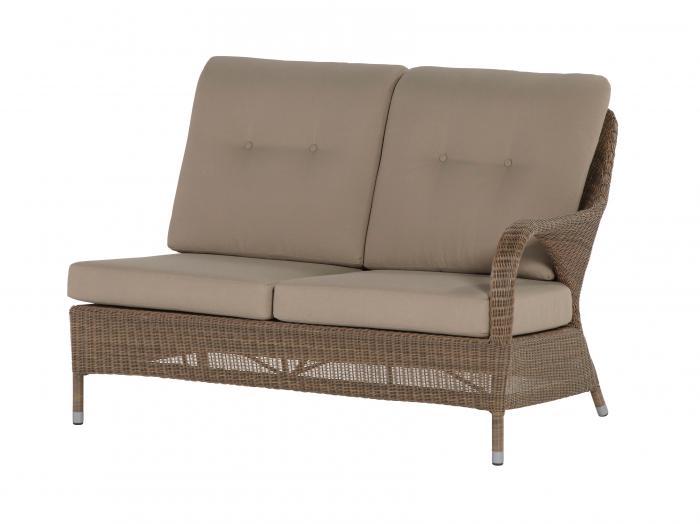 4seasons sussex 2 sitzer lounge modul links gartenm bel. Black Bedroom Furniture Sets. Home Design Ideas