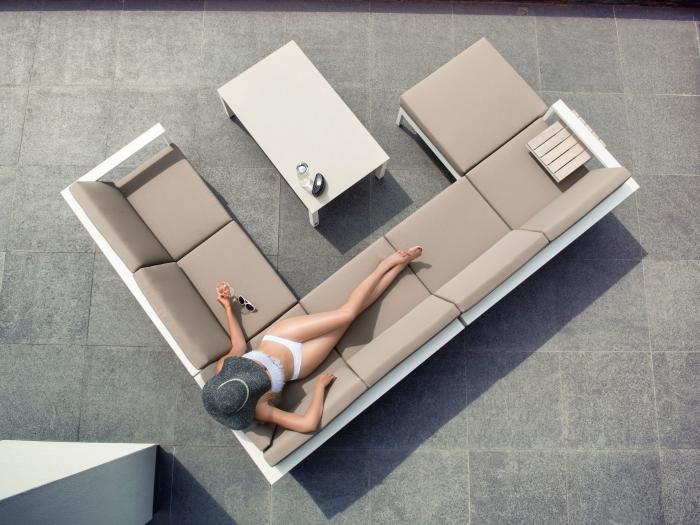 4seasons cosmo lounge set weiss gartenm bel. Black Bedroom Furniture Sets. Home Design Ideas