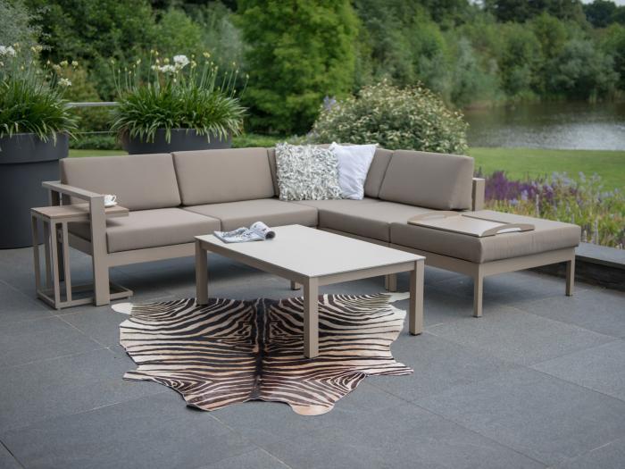 4seasons cosmo lounge set taupe gartenm bel. Black Bedroom Furniture Sets. Home Design Ideas