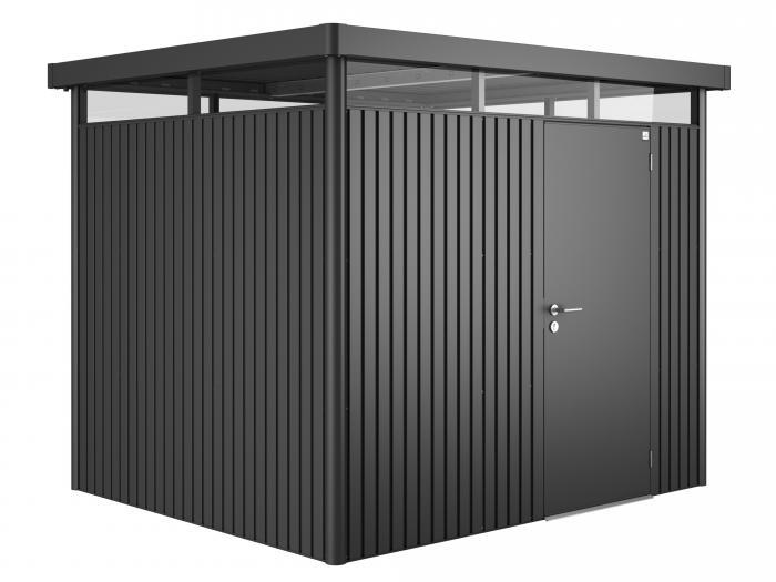 biohort highline h3 dunkelgrau metallic gartenh user. Black Bedroom Furniture Sets. Home Design Ideas
