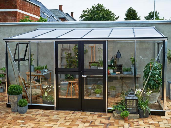 juliana anlehngew chshaus veranda 9 8 alu schwarz gew chsh user. Black Bedroom Furniture Sets. Home Design Ideas