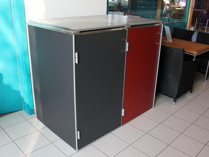 m lltonnenboxen ausstellung. Black Bedroom Furniture Sets. Home Design Ideas