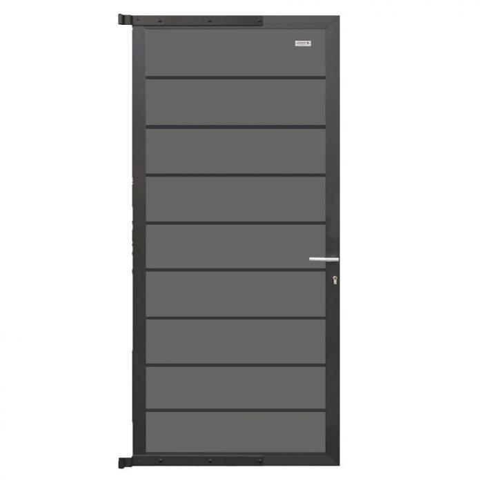 elephant zauntor modular 200 wpc steingrau leiste anthrazit abholung in d lmen ebay. Black Bedroom Furniture Sets. Home Design Ideas