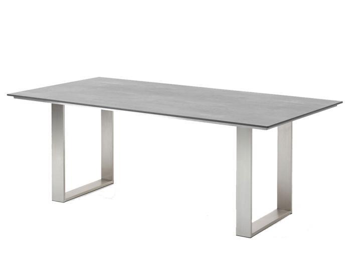 Niehoff noah tisch, profilkufe, hpl tischplatte beton design ...