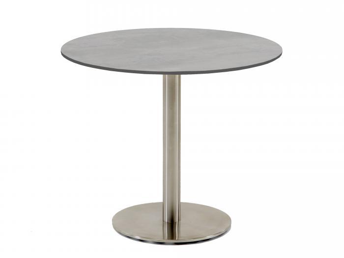 Tisch Rund 70 Cm Durchmesser.Niehoff Bistro Tisch Rund 95cm Hpl