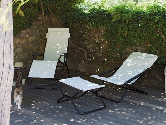 Lafuma Futura Relaxsessel Ecume 6900 | Gartenmöbel | MESEM.de