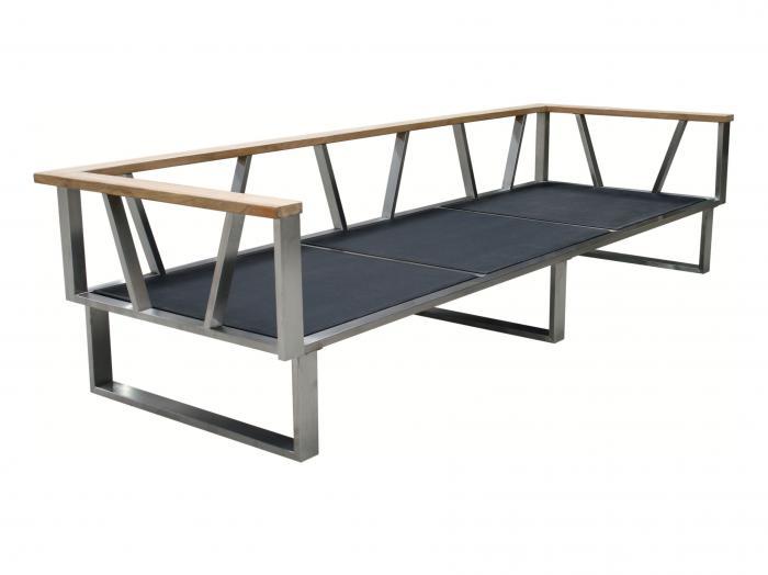 Zebra Belvedere Lounge 3 Sitzer Rahmen Ohne Polster Modell 2018