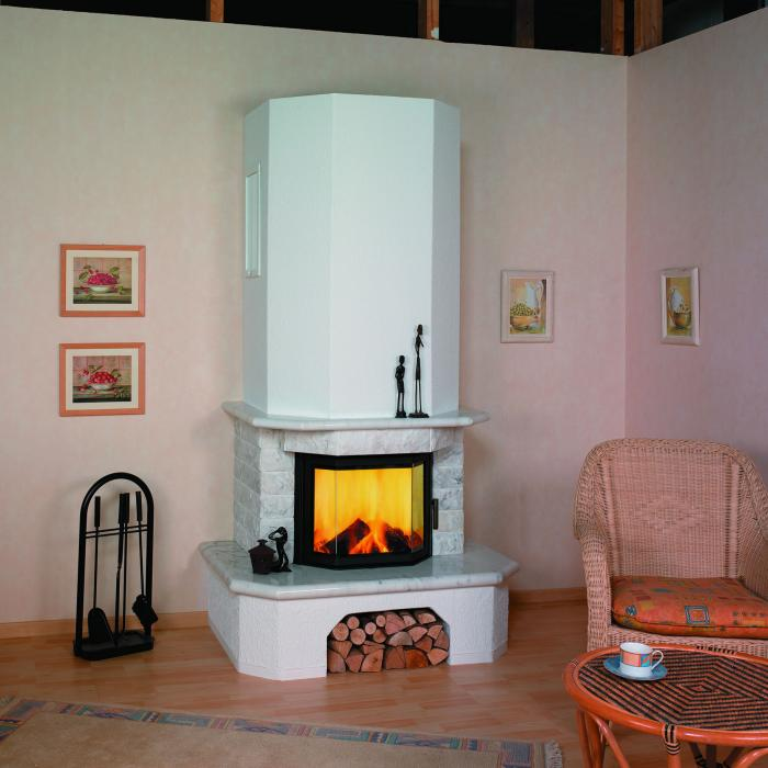 hark kaminbausatz 8kw aspen naturwei mit echtem marmor. Black Bedroom Furniture Sets. Home Design Ideas