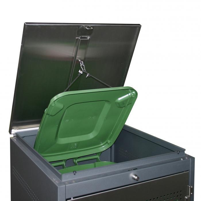 heibi m lltonnenbox 240l 53245 036 m lltonnenboxen. Black Bedroom Furniture Sets. Home Design Ideas