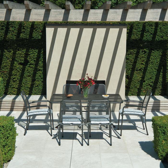 alexander rose portofino gartentisch 7958 gartenm bel. Black Bedroom Furniture Sets. Home Design Ideas