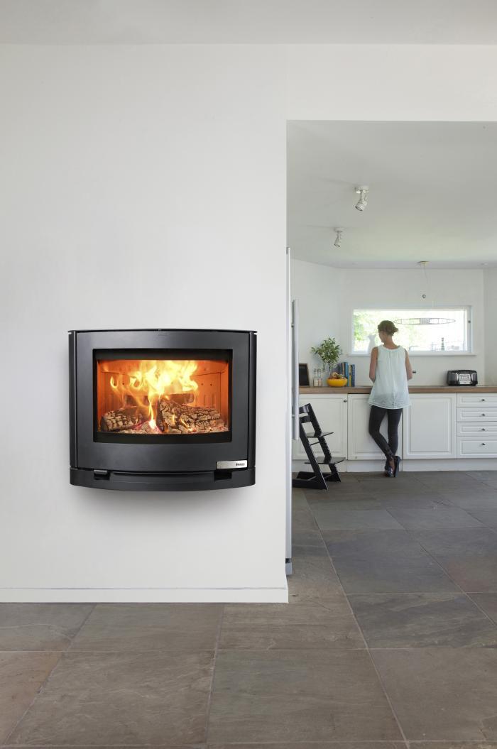 kaminofen 6 5kw aduro 15 3 stahl schwarz kamin fen. Black Bedroom Furniture Sets. Home Design Ideas