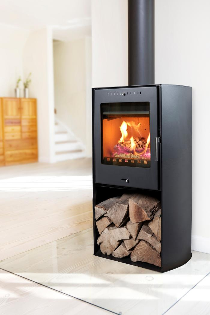 kaminofen 5kw aduro asgard 9 schwarz kamin fen. Black Bedroom Furniture Sets. Home Design Ideas