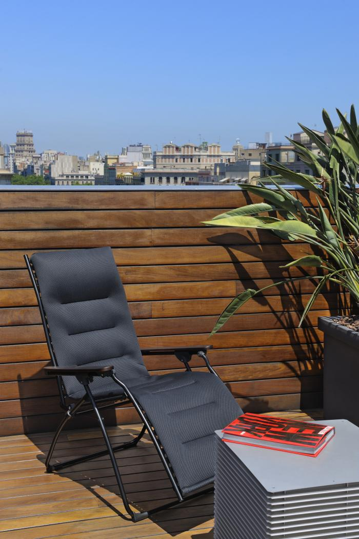 lafuma relaxsessel evolution air comfort acier 6135 gartenm bel. Black Bedroom Furniture Sets. Home Design Ideas