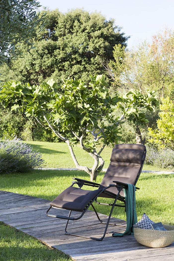 Lafuma Futura Relaxsessel Air Comfort Acier 6135 Gartenmöbel