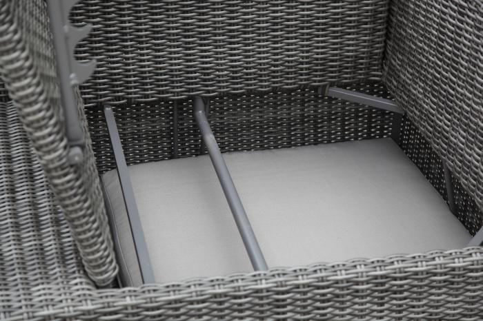 zebra jack lounge set taupe gartenm bel. Black Bedroom Furniture Sets. Home Design Ideas