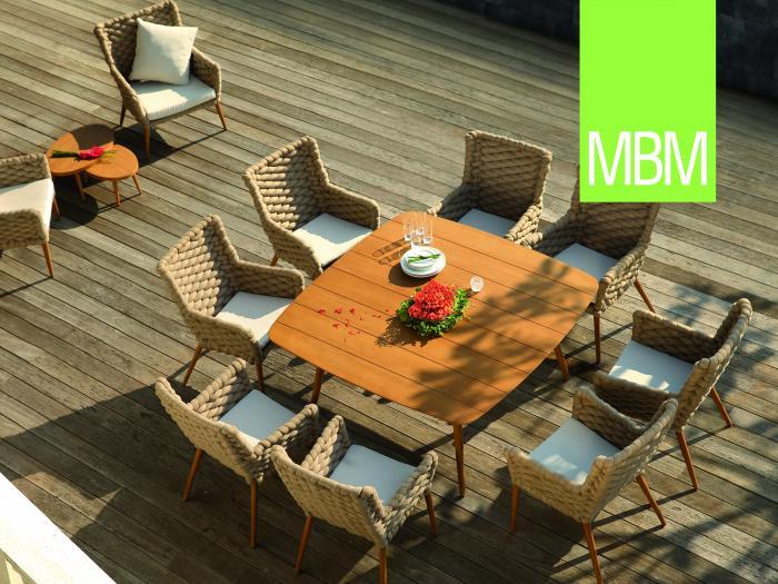 mbm iconic tisch 155 x 155cm 376979 gartenm bel. Black Bedroom Furniture Sets. Home Design Ideas