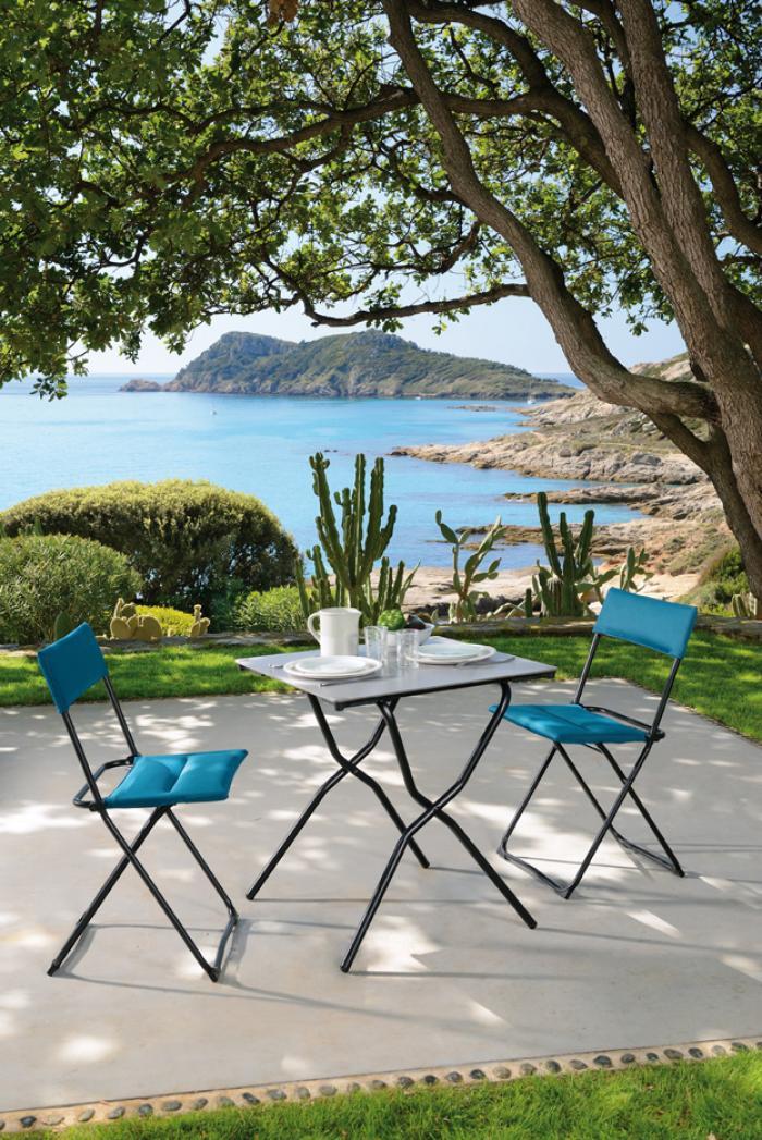 lafuma anytime klappstuhl air comfort coral blue 6893 gartenm bel. Black Bedroom Furniture Sets. Home Design Ideas