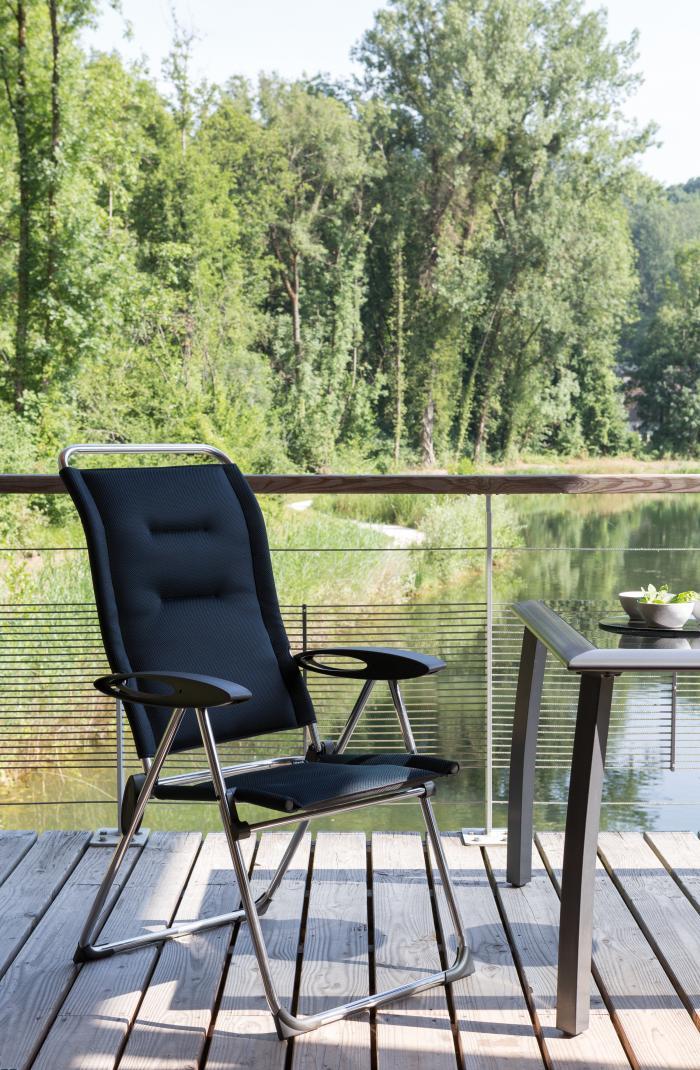 lafuma cham elips klappstuhl air comfort taupe 6899 gartenm bel. Black Bedroom Furniture Sets. Home Design Ideas
