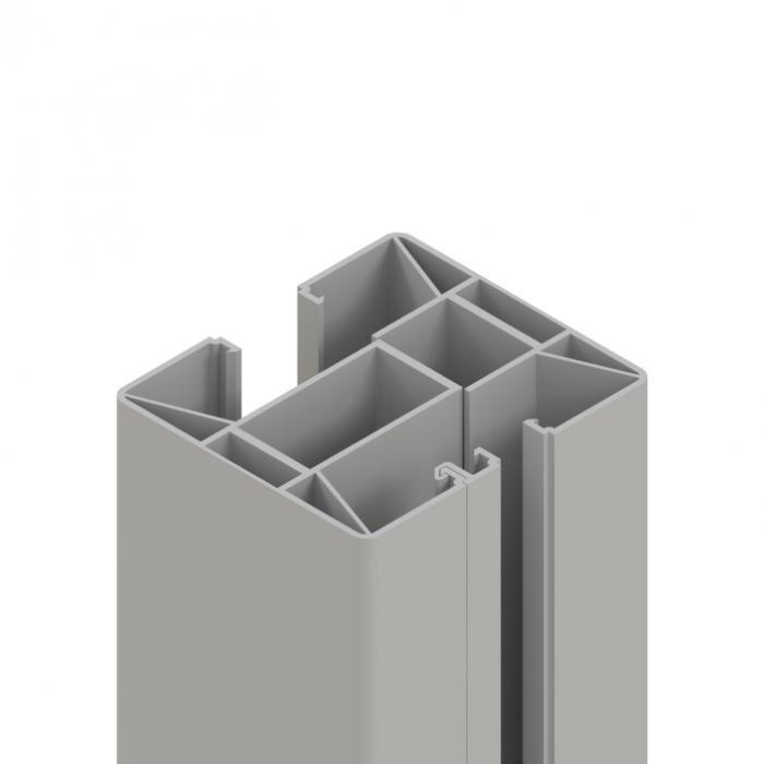 system glas und wpc zaunanlage 4 zaun. Black Bedroom Furniture Sets. Home Design Ideas