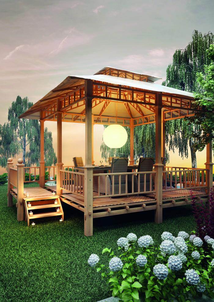plo semarang pavillon 500 x 400cm 1080690 gartenh user. Black Bedroom Furniture Sets. Home Design Ideas