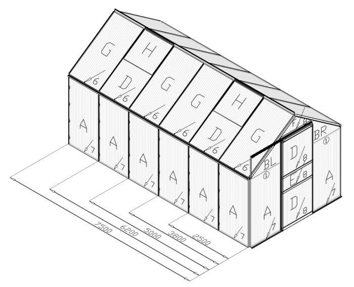 ersatzplatte venus hkp 4mm hohlkammerplatten. Black Bedroom Furniture Sets. Home Design Ideas