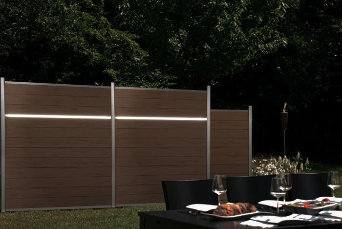 system lichtleiste 2501 zaunbeschl ge. Black Bedroom Furniture Sets. Home Design Ideas