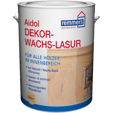 Remmers Aidol Dekorwachs-Lasur 750ml Farbton: Farblos 33,37 EUR/L; 4004707019866