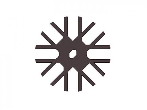 Eurotec Distanz-Stern für Holzterrassen