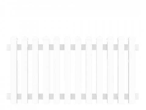 Groja Vorgartenzaun-Element gerade 180 x 90cm 4250260999569
