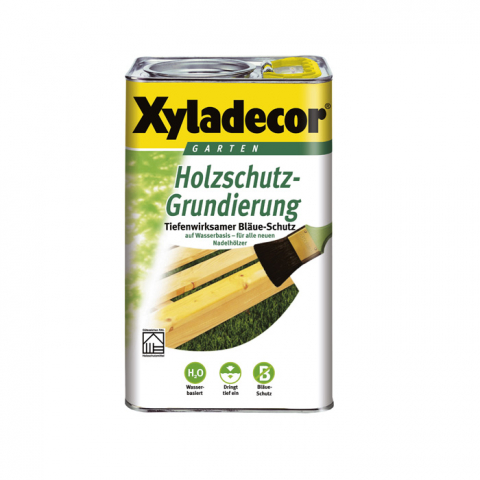 Akzo Nobel Xyladecor Holzschutz-Grundierung 2,5 l auf Wasserbasis 10,54 EUR/L; 4000729059682